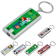 """Akari FC"" PhotoImage ® Full Colour Imprint Slim Keyholder Keylight with Bright White LED Light"