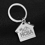 """Home Sweet Home"" Laser Engraved Metal Keyholder"
