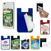 2-in-1 Microfiber Silicone Phone Wallet