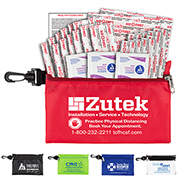 """All-You-Need"" 28 Piece First Aid Kit in Super sized Zipper Pouch"
