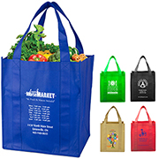 "13"" W x 15"" H ""Super Mega"" Grocery Shopping Tote Bag"