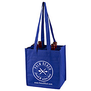 """The Brunello"" 4 Bottle Wine Tote Bag"