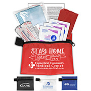 11 Pcs Antiseptic and Protective Health Living Pack in Zipper Pouch