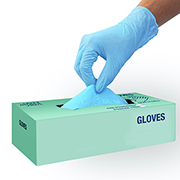 Large Size Nitrile Gloves