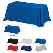 6' 4-Sided Throw Style Table Cloth & Covers - Blanks